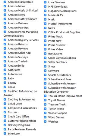 Amazon marketing email preferences-1