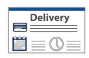 Online delivery checkout