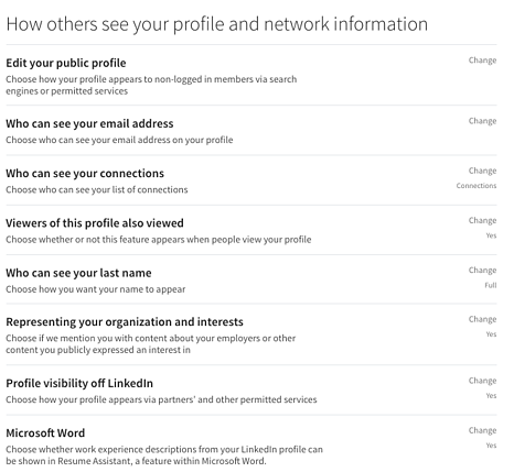 LinkedIn menu-1