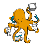 Octopus multitasker