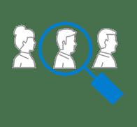 three users