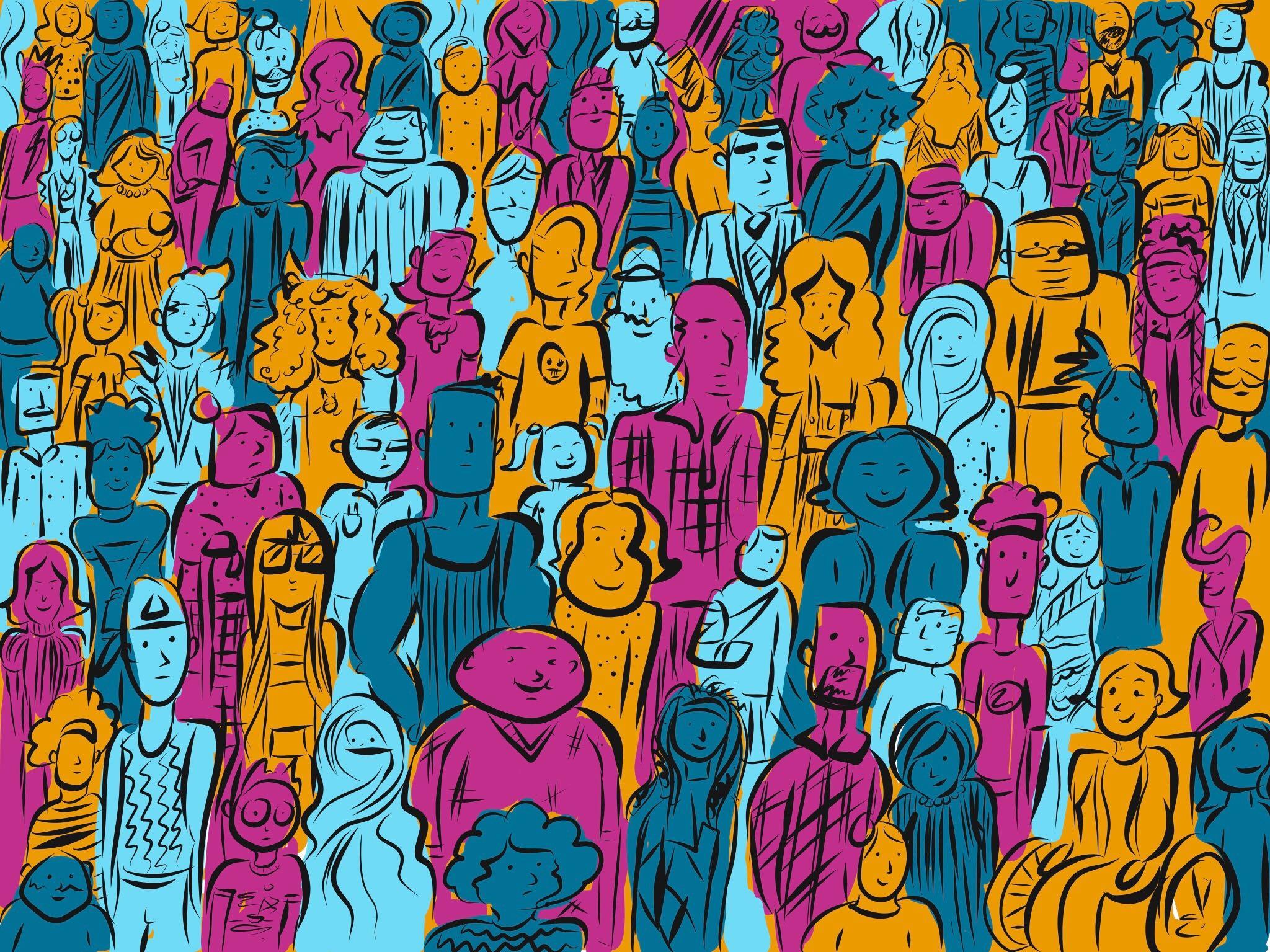 inclusivity crowd
